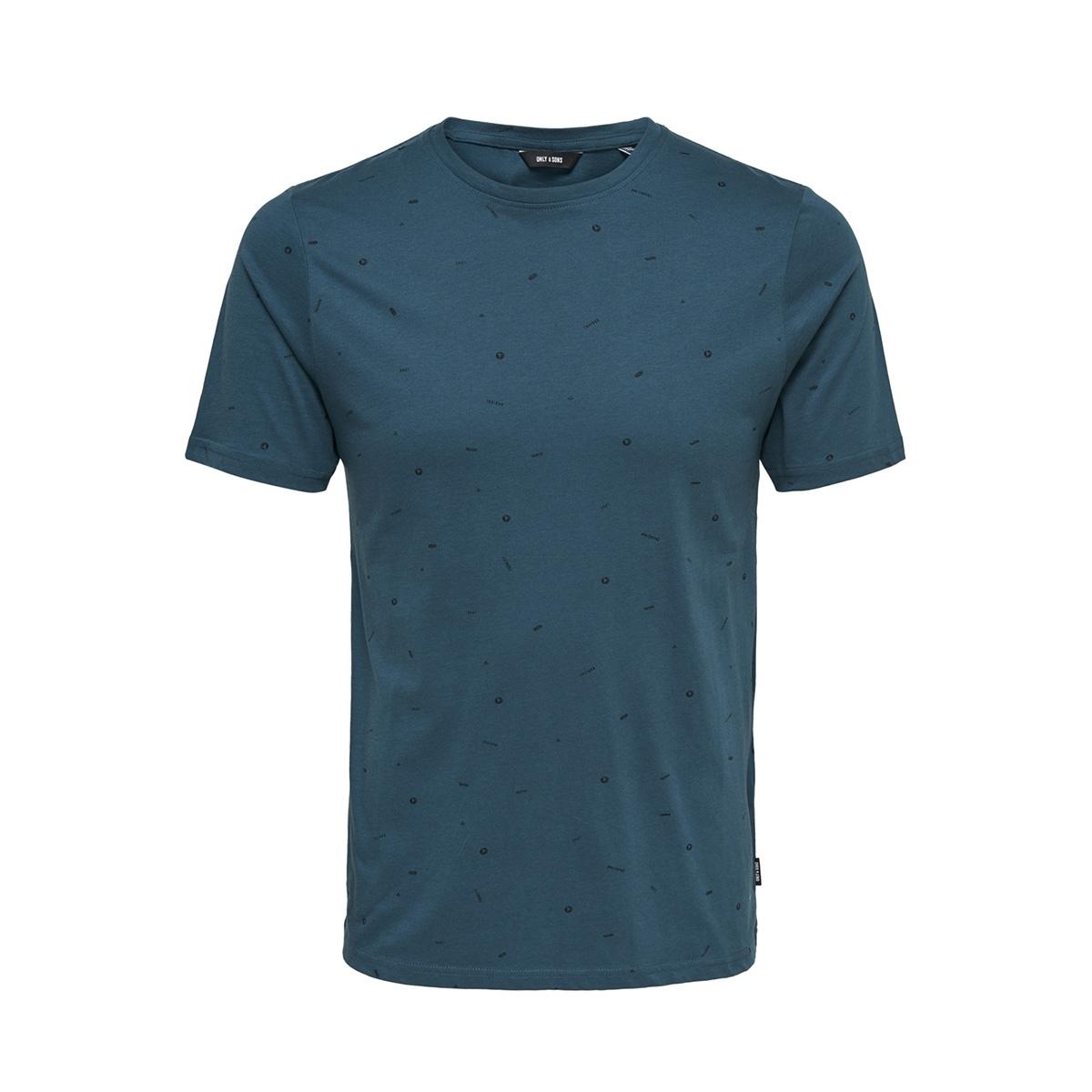 onsfarrell ss tee 22010942 only & sons t-shirt legion blue