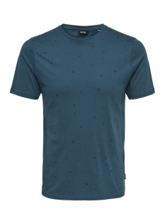 Only & Sons T-shirt onsFARRELL SS TEE 22010942 Legion Blue
