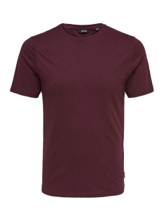 Only & Sons T-shirt onsFARRELL SS TEE 22010942 Cabernet