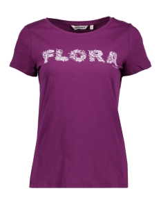 Garcia T-shirt V80201 3201 Plum Caspia