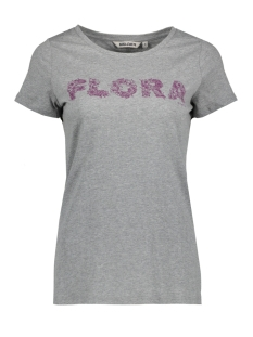 Garcia T-shirt V80201 66 Grey Melee