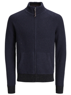 Jack & Jones Vest JPRJORDY KNIT TURTLE NECK 12141694 Navy Blazer