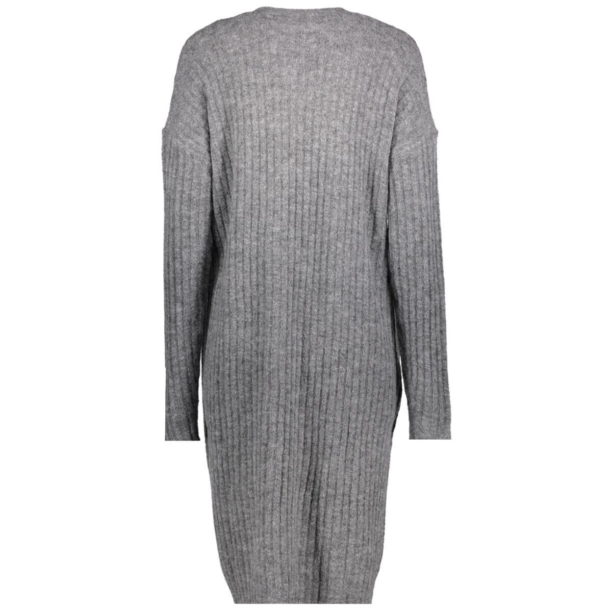 vmtinni ls long open cardigan 10201036 vero moda vest medium grey melange