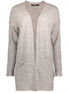 Vero Moda Vest VMAGOURA LINKING LS OPEN CARDIGAN A 10201511 Light Grey Melange