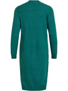 viril l/s long knit cardigan-fav 14043282 vila vest bayberry/melange