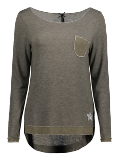 Key Largo T-shirt WLS00149 WLS COLOGNE ROUND 1505 KHAKI
