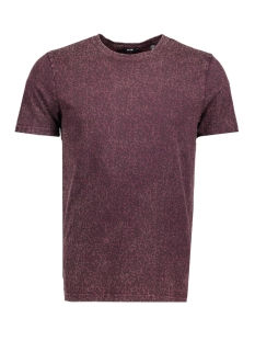 Only & Sons T-shirt onsHOWIE DITSY AOP WASHED TEE REG 22011438 Winetasting