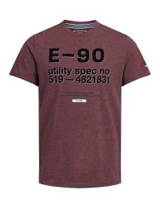 Jack & Jones T-shirt JCOBLAKE TEE SS CREW NECK 12143030 Zinfandel/SLIM - MEL