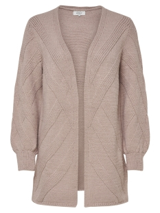 Only Vest onlNEW LUV L/S LONG CARDIGAN KNT 15161410 Fawn/W. MELANGE