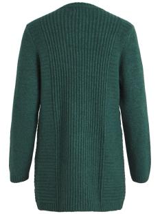 objnonsia rib l/s knit cardigan sea 23027810 object vest pine grove