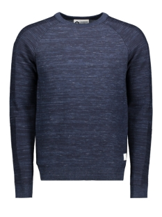 Jack & Jones Trui JCOFRESNO KNIT CREW NECK 12142850 Sky Captain/KNIT FIT