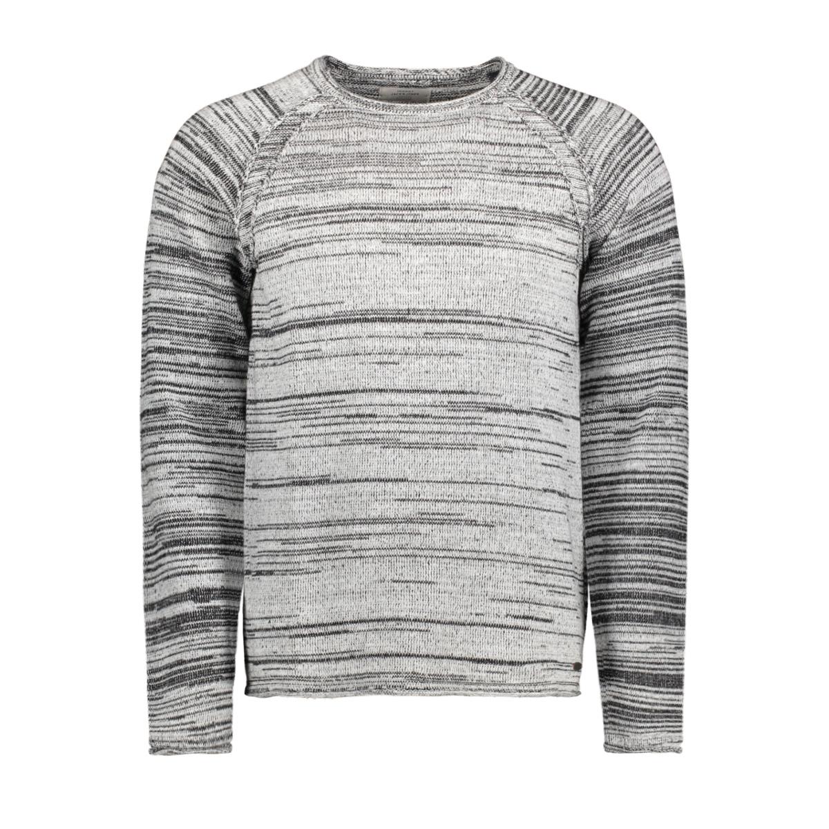 jordavido knit raglan 12145503 jack & jones trui jet stream/knit