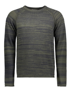 Jack & Jones Trui JORDAVIDO KNIT RAGLAN 12145503 Forest Night/KNIT