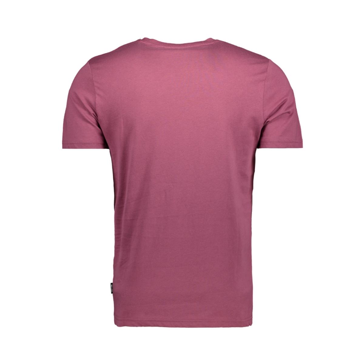 onsfinn ss tee 22010944 only & sons t-shirt maroon