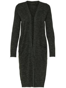 Only Vest onlNEW HAYLEY L/S LONG CARDIGAN KNT 15126884 Dark Grey Melange