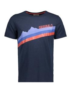 Jack & Jones T-shirt JORSTEN TEE SS CREW NECK 12144358 Total Eclipse/SLIM
