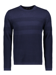 Jack & Jones Trui JPRNOW KNIT CREW NECK 12144580 Maritime Blue