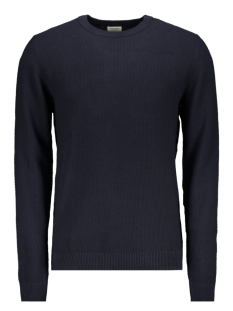 Jack & Jones Trui JJESTRUCTURE KNIT CREW NECK NOOS 12137171 Navy Blazer