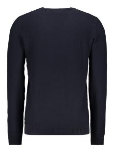 jjestructure knit crew neck noos 12137171 jack & jones trui navy blazer