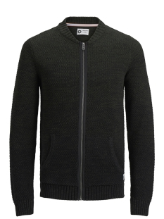 Jack & Jones Vest JCOTULEDO KNIT CARDIGAN 12142980 Rosin/HIGH NECK