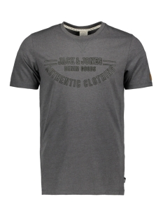 Jack & Jones T-shirt JORDENVER TEE SS CREW NECK 12145919 Dark Grey Melange