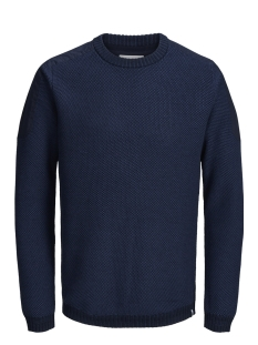 Jack & Jones Trui JCOTULSA KNIT CREW NECK 12142859 Sky Captain/KNIT FIT