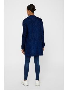 nmdaniel l/s knit coatigan 7 27004453 noisy may vest black/surf the web