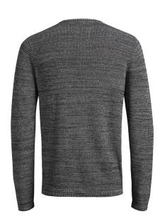 jcooctavio knit crew neck 12117161 jack & jones trui white/zip detail