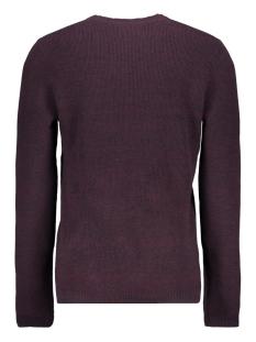 jcooctavio knit crew neck 12117161 jack & jones trui port royale/zip detail