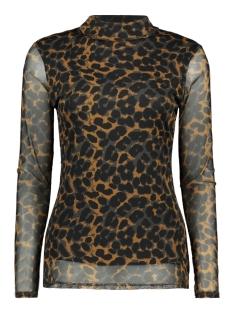 8355 malou top luba t-shirt print roest