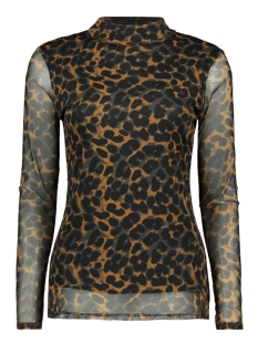 Luba T-shirt 8355 MALOU TOP PRINT ROEST