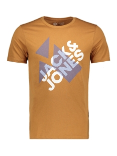 Jack & Jones T-shirt JCOBOOSTER TEE SS CREW NECK NOVEMBE 12156027 Chipmunk/SLIM