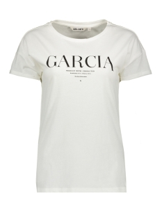 Garcia T-shirt GE801185 53 Off White