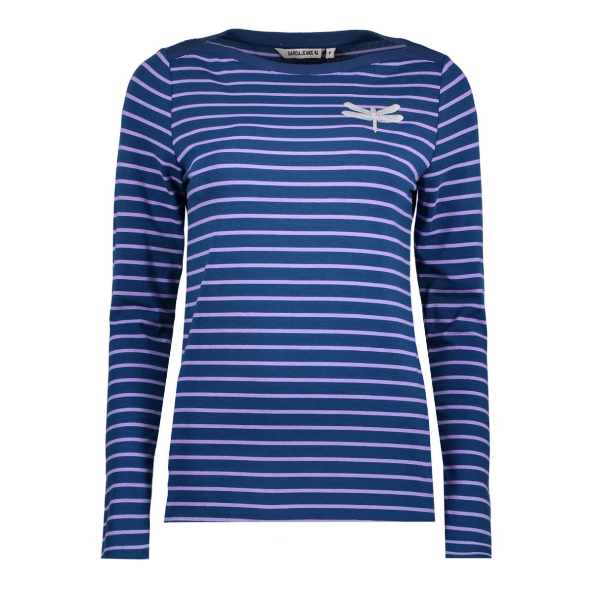x80009 garcia t-shirt 2812 blue opal