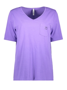 Zoso T-shirt 77TH TEE L/S PURPLE