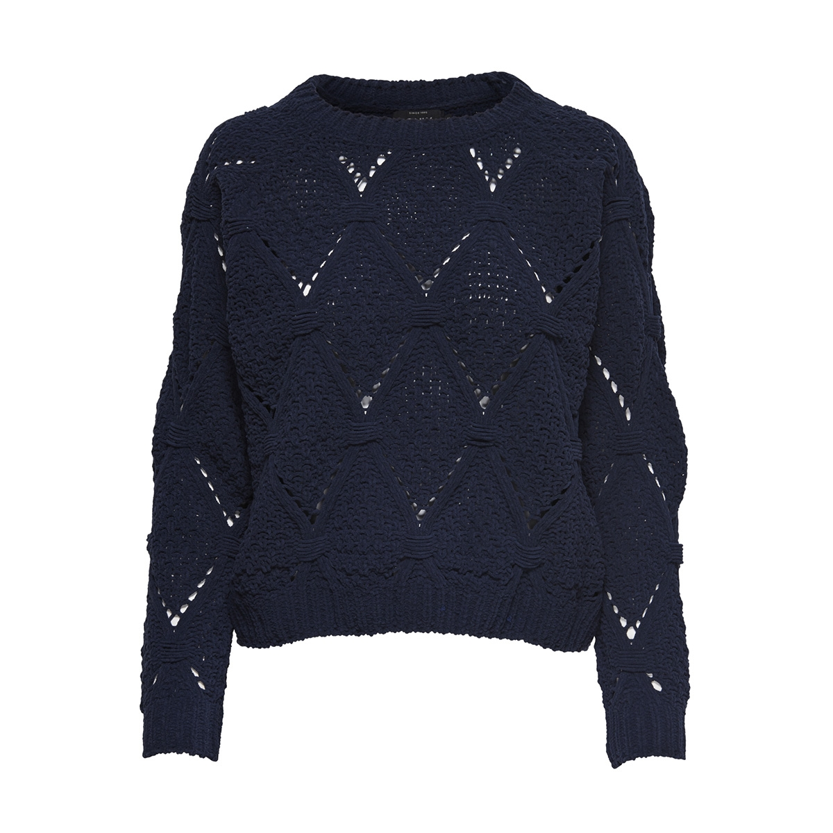 onlyasmin l/s structure pullover cc 15169515 only trui night sky