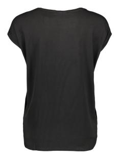 vmava plain ss top aop ga 10211788 vero moda t-shirt black/sparkle go