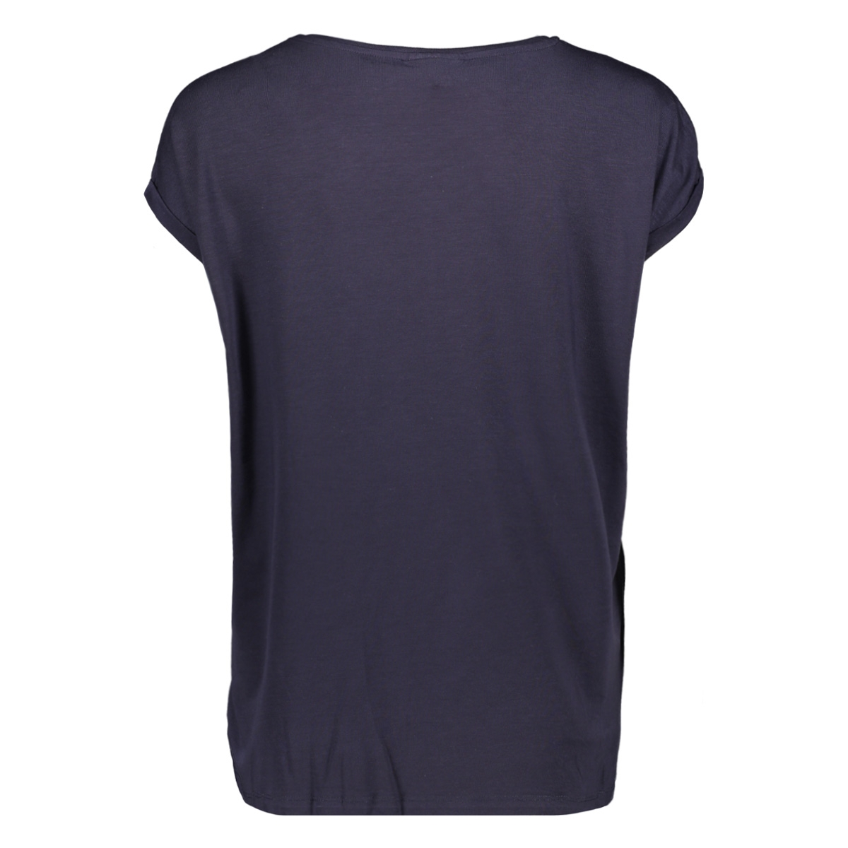 vmava plain ss top aop ga 10211788 vero moda t-shirt night sky/shine silv