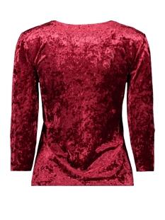 3435 shirt velvet iz naiz t-shirt red
