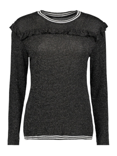 Luba Trui ANNE TOP GLITTER BLACK