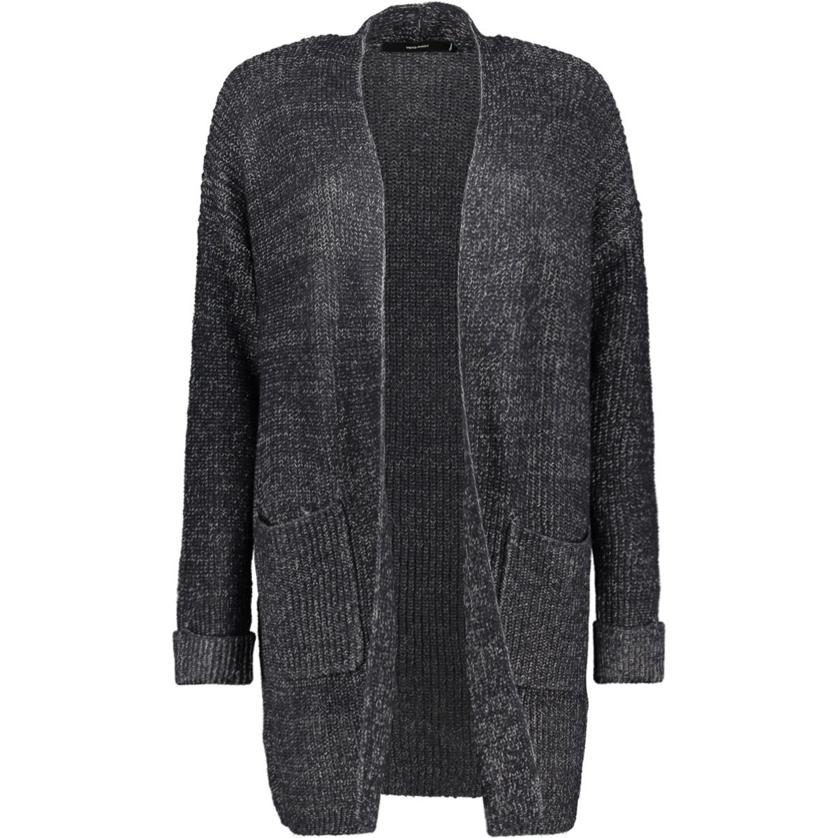 vmdrizzle ls open cardigan acc 10201733 vero moda vest night sky/ ombre blue