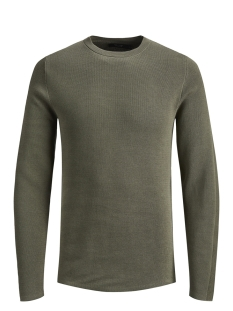 Jack & Jones Trui JPRDEAN KNIT CREW NECK 12146182 Kalamata
