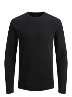 Jack & Jones Trui JPRDEAN KNIT CREW NECK 12146182 Black