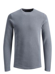 jprdean knit crew neck 12146182 jack & jones trui tradewinds