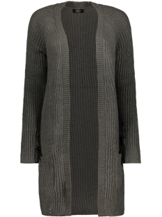 onlfreya l/s long cardigan ex knt 15176154 only vest phantom