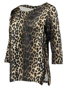 fien 3/4 top leopard luba t-shirt sand