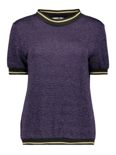 Luba T-shirt EMILLY GLITTER TOP PURPLE