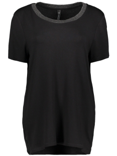 Zoso T-shirt PENNY SHIRT WITH LUREX BLACK
