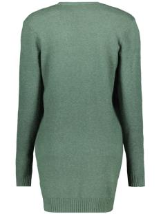 viril l/s  open knit cardigan-fav 14044095 vila vest garden topiary/melange