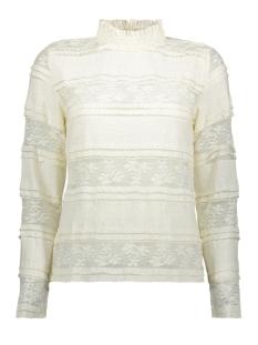 Vero Moda T-shirt VMTHEA L/S LACE TOP FD18 10214947 Pristine